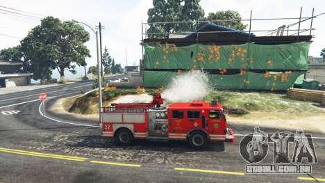GTA 5 Trabalho no serviço de bombeiros v1.0-RC1 segundo screenshot