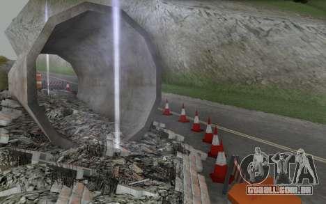 Estrada de reparação para GTA San Andreas sexta tela