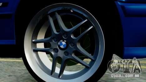 BMW M5 E34 Gradient para GTA San Andreas traseira esquerda vista