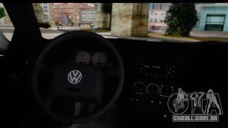 Volkswagen Golf 3 Stanced para GTA San Andreas vista direita