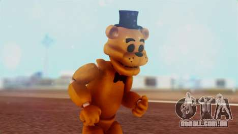 Golden Freddy v2 para GTA San Andreas