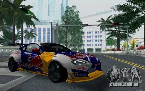 Toyota GT86 Red Bull para GTA San Andreas