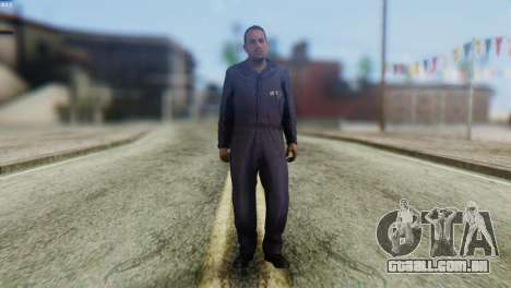 Uborshik Skin from GTA 5 para GTA San Andreas