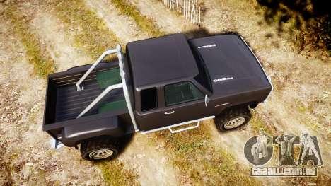 Vapid Bobcat Hillbilly para GTA 4 vista direita