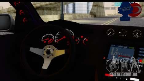 Seat Ibiza para GTA San Andreas vista direita