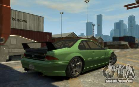 Vapid Fortune Drift para GTA 4 esquerda vista