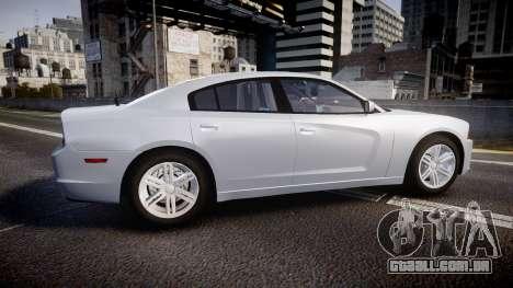 Dodge Charger Traffic Patrol Unit [ELS] bl para GTA 4 esquerda vista