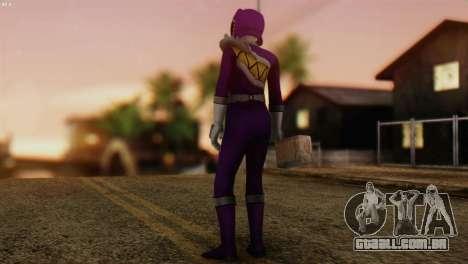 Power Rangers Skin 7 para GTA San Andreas segunda tela