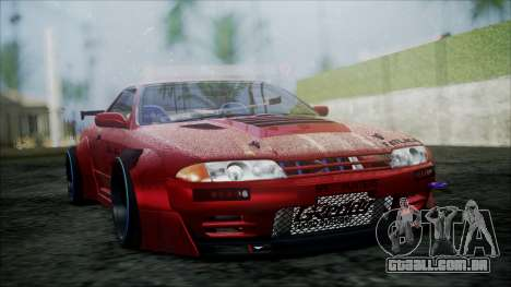 Nissan Skyline GT-R R32 Battle Machine para GTA San Andreas vista direita