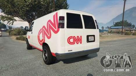 GTA 5 Bravado Rumpo CNN v0.2 traseira vista lateral esquerda