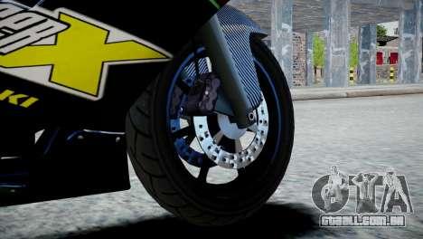 Bike Bati 2 HD Skin 3 para GTA 4 traseira esquerda vista