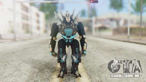 Drift Skin from Transformers para GTA San Andreas segunda tela