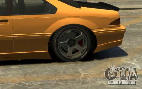 Vapid Fortune Drift para GTA 4 vista lateral