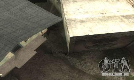 Welcome Back para GTA San Andreas por diante tela