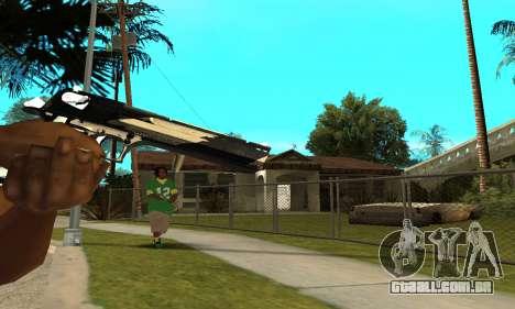 Two Lines Deagle para GTA San Andreas terceira tela