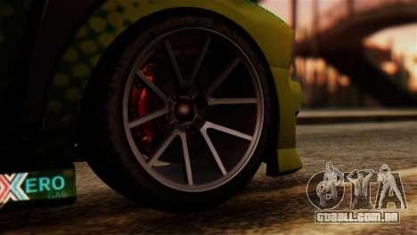 GTA 5 Bravado Buffalo Sprunk IVF para GTA San Andreas traseira esquerda vista