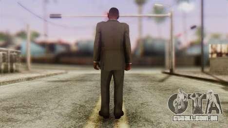 GTA 5 Skin 2 para GTA San Andreas segunda tela