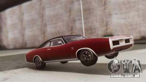 GTA 5 Imponte Dukes IVF para GTA San Andreas vista traseira