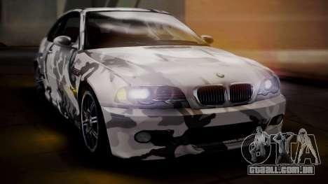 BMW M3 E46 v2 para o motor de GTA San Andreas