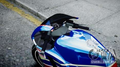 Bike Bati 2 HD Skin 2 para GTA 4 vista direita