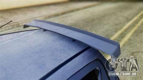 Toyota Aygo Sporting para GTA San Andreas vista traseira