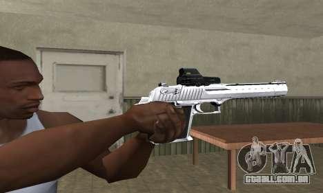 Tiger Deagle para GTA San Andreas segunda tela