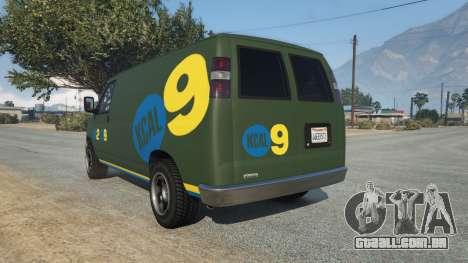 GTA 5 Bravado Rumpo KCAL v0.2 traseira vista lateral esquerda