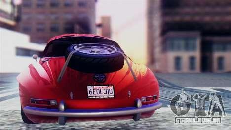 GTA 5 Benefactor Stirling GT para GTA San Andreas vista direita