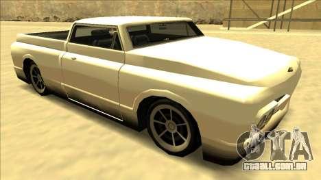 Slamvan Final para vista lateral GTA San Andreas