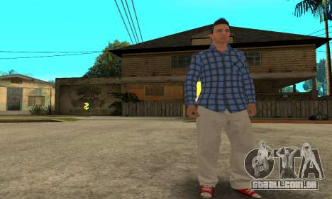 Skin Claude [HD] para GTA San Andreas quinto tela