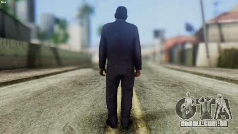 Uborshik Skin from GTA 5 para GTA San Andreas segunda tela