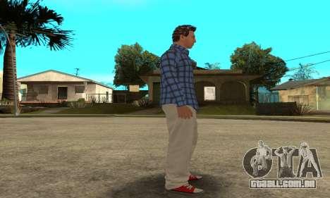 Skin Claude [HD] para GTA San Andreas sétima tela