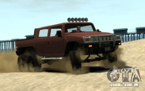 Mammoth Patriot 6x6 para GTA 4