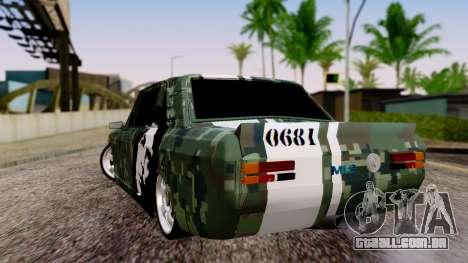 Peykan Javanan Drift para GTA San Andreas esquerda vista