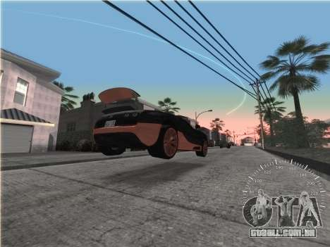 Simples velocímetro para GTA San Andreas terceira tela
