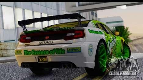 GTA 5 Bravado Buffalo S Sprunk para GTA San Andreas esquerda vista