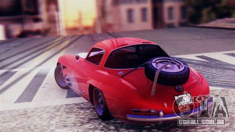 GTA 5 Benefactor Stirling GT para GTA San Andreas esquerda vista