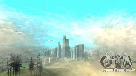 Publicidade dirigíveis para GTA San Andreas terceira tela