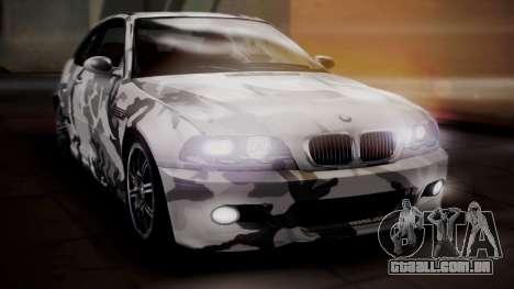 BMW M3 E46 v2 para as rodas de GTA San Andreas