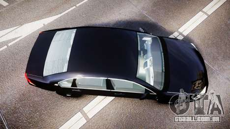 Chevrolet Impala Unmarked Police [ELS] ntw para GTA 4 vista direita