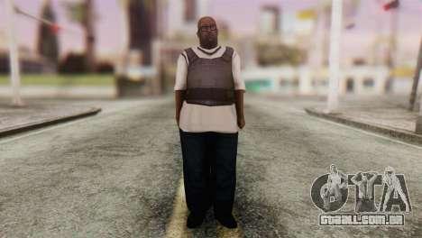 Big Smoke Skin 4 para GTA San Andreas segunda tela