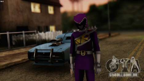 Power Rangers Skin 7 para GTA San Andreas