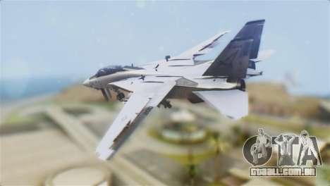 F-14A Tomcat VF-21 Freelancers para GTA San Andreas esquerda vista