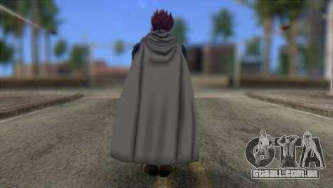 Dragon Ball Xenoverse Mysterious Warrior para GTA San Andreas segunda tela