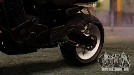Bajaj Rouser 135 Stunt para GTA San Andreas vista traseira