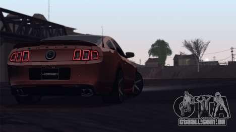 ENB by OvertakingMe (UIF) for Powerfull PC para GTA San Andreas por diante tela