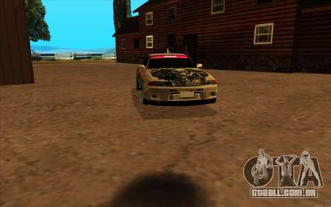 Nissan Skyline R32 RLD para GTA San Andreas esquerda vista