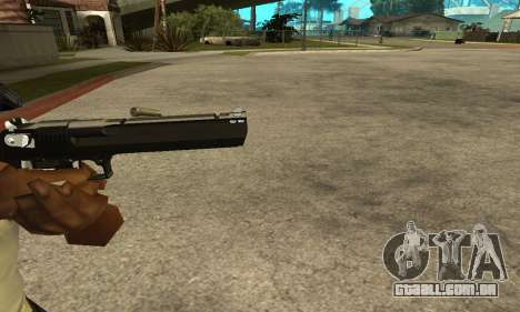Cool Black Deagle para GTA San Andreas terceira tela