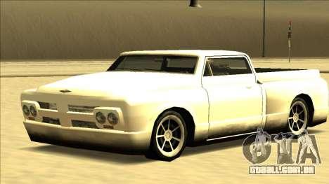 Slamvan Final para GTA San Andreas vista direita