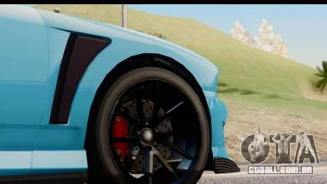 GTA 5 Bravado Buffalo S Sprunk para GTA San Andreas vista traseira